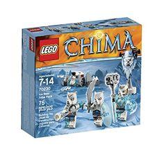 LEGO Chima Ice Bear Tribe Pack LEGO Chima http://www.amazon.com/dp/B00NHQGR0G/ref=cm_sw_r_pi_dp_-NdUvb14C1KF9