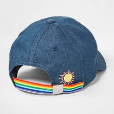 Girls  More Sun Please Baseball Hat - Cat   Jack Chambray One Size 985ee351e9c2