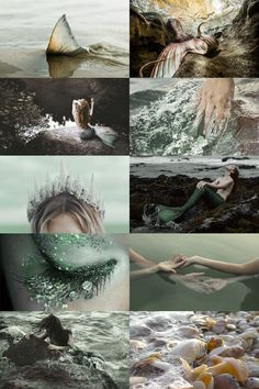 """moodyhues:  """"Ocean Mermaid Aesthetic ; requested by anon  """""""