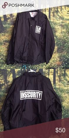 e586f3a89655b8 Ain t Nobody Cool Insecurity Jacket Great condition