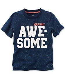 Carter's Graphic-Print T-Shirt, Toddler Boys (2T-4T) http://Fave.co/2kQecxB