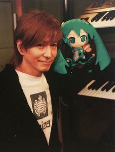 小室哲哉 Tetsuya Komuro 初音ミク Keiko, It Works, Joker, Fictional Characters, Nice, Jokers, Fantasy Characters, Comedians, The Joker
