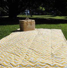 Waterproof blanket...perfect for picnics, outdoor concerts, stargazing, beach parks, camping, or anywhere you need a waterproof soft surface