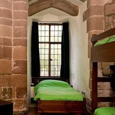 The St Briavels Hostel in Gloucestershire is basically Hogwarts