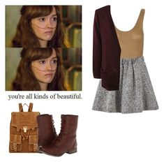 Emma Decody - Bates Motel by shadyannon on Polyvore featuring polyvore fashion style Blonde + Blonde Skechers Proenza Schouler clothing