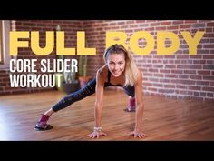 Core Slider Abdominal Strengthening Tutorial (Video) - This core slider tutorial will guide you through a series of exercises that focus on strengthening - Fitness Workouts, Fitness Tips, Health Fitness, Stomach Workouts, Quick Workouts, Fitness Routines, Fat Workout, Workout Routines, Glider Workout