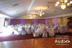 The banquet room at Riverview Banquets in Batavia. http://www.discjockey.org
