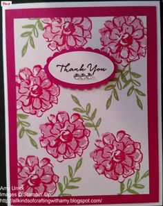 """All Kinds of Crafting with Amy: Preview """"Getting Ready for Stampin' Up Sale-A-Bration!"""" using the What I Love stamp set"""
