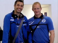 @BHASnappy  #BHAFC @CAnkergren and @brezky waiting for their cases at Gib airport!