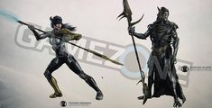 Thanos, Proxima Midnight and Corvus Glaive featured on Avengers: Infinity War promo art
