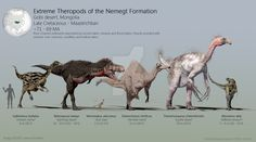 Extreme Theropods of the Nemegt Formation by PaleoGuy on DeviantArt