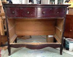 Vintage Dresser Restoration - Before and After