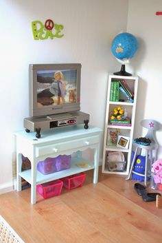 I have been asked on several occasions to do a tour, of sorts, of the rooms of my dollhouse.  The house has seen several changes over...