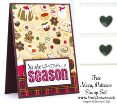 Stampin' Up! Demonstrator Pootles -Christmas Around the World with Merry Patterns