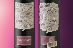 Small Talk Wines on Behance