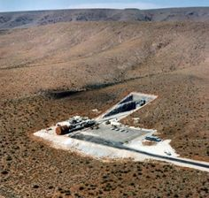 The DUMB (Deep Underground Military Base) entrance near Yucca, AZ.