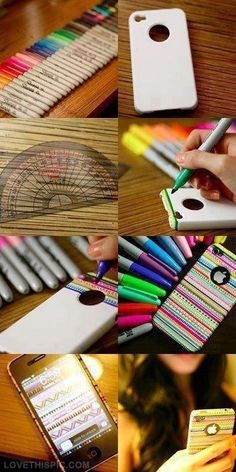 DIY iPhone case diy diy ideas diy crafts do it yourself diy art diy ideas diy crafts craft ideas diy tips diy images do it yourself images diy photos diy pics easy diy