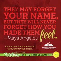 Congratulations New Nurses. You went to school to do what you love. Now your days (or nights) are filled with the surprises, satisfaction and responsibilities that come with your first job. ANA is here to help with trusted advice on making the transition to RN. Register for ANA's FREE digital Welcome to the Profession Kit. nursingworld.org/newgraduate