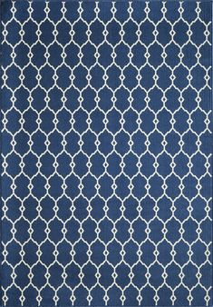 """Momeni Rugs BAJA0BAJ-2NVY7AAA, Baja Collection Contemporary Indoor & Outdoor Area Rug, Easy to Clean, UV protected & Fade Resistant, 7'10"""" x 10'10"""", Navy Blue"""