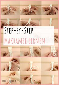 Macrame DIY: Learn macrame with simple macrame instructions – Learn macrame step by step for great macrame projects. Macrame DIY: Learn macrame with simple macrame instructions – Learn macrame step by step for great macrame projects. Diy Jewelry Rings, Diy Jewelry Unique, Diy Jewelry To Sell, Diy Jewelry Holder, Diy Jewelry Making, Diy Crafts To Sell, Handmade Jewelry, Diy Macrame Plant Hanger, Diy Macrame Wall Hanging