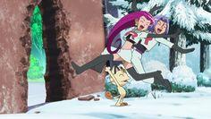 I Love Anime, Me Me Me Anime, Pokemon Jessie And James, Equipe Rocket, Kiss Goodnight, Pikachu Art, Team Rocket, Catch Em All, Appreciation
