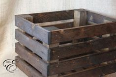 How to make your own crates