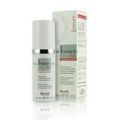 £39.95 (RRP £43) Phasilab Instant Age Hyaluronic Forte Serum preserves skins natural moisturising barrier, reinforces Hyaluronic Acid production, controls oxidative stress and restores comfort. Improves fine lines and wrinkles with anti-inflammatory action. Perfect for mature and aging skin.