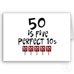 50 is 5 perfect 10s