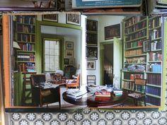 Library in Suffolk, Ben Pentreath, English Decoration