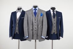 Option Blue/Grey Check Suit: Made to Measure, Blue Suit: Hire Wedding Suit Hire, Vintage Wedding Suits, Tweed Wedding Suits, Best Wedding Suits, Tweed Suits, Wedding Men, Wedding Attire, Grey Suits, Wedding Blog