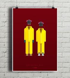 dodatki - plakaty, ilustracje, obrazy - grafika-Breaking Bad - plakat