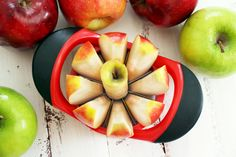 November 10 - I really love my apple slicer. Apple's are fun to eat again.
