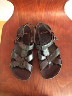 Clarks Sandalen schwarz gr. UK 5,5 ( dt. 39) - kleiderkreisel.de