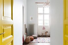 consistent color throughout the home