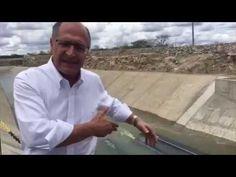 Transposição: Alckmin se Gaba com Obra histórica de Lula