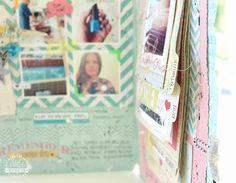 Janna Werner: Heidi Swapp Memory Files - Scrapbooking, Mini Albums