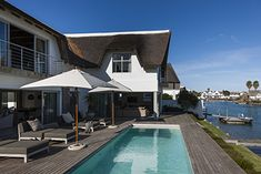 As the name would suggest Keerweer Canal House is idyllically located to take full advantage of the unique tidal canal system in St Francis Bay. Kitesurfing, St Francis, Sunshine Coast, Rental Property, Countryside, South Africa, Cape, Coastal, Vacation