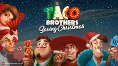 Play online slot game Taco Brothers Saving Christmas now based on Christmas theme to win huge cash prizes. Play now! #slots #casino www.topslotsite.c...