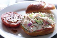 Creamy Mock Crab Salad.