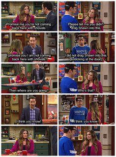 "#GirlMeetsWorld 2x04 ""Girl Meets Pluto"" - Topanga and Cory"