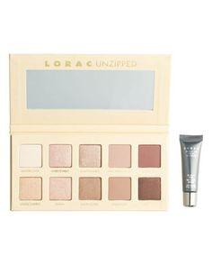 lorac unzipped shimmer & matte eyeshadow palette