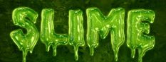 Photoshop Tutorial: Easy Slime Text Effect | By Rose on planetphotoshop.com | #photoshop #tutorial