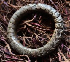OLD BRONZE BANGLE currency jewelry, Tribal African art. ethnographic. Ancien.  Afrique Africains. by TribalDesigner on Etsy
