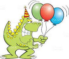 Image result for dinosaur balloons