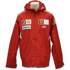 Scuderia Ferrari Team Rain Jacket