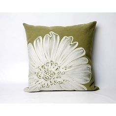 LOVE! pillow green medallion - Google Search