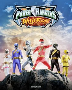 8+x+10+glossy+print+of+the+legendary+Power+Rangers+Wild+Force.