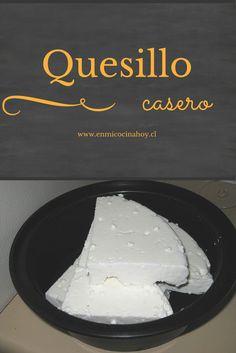 EL quesillo chileno o queso fresco es un queso que se hace con leche de vaca fresca y se consume de inmediato, antes de 1 semana. Suave y delicioso. Chilean Desserts, Chilean Recipes, Chilean Food, Queso Fresco Recipe, Queso Recipe, Salvadorian Food, Queso Cheese, Homemade Cheese, Antipasto