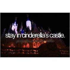 THAT WOULD BE SO COOL..AFTER WATCHING THE CASTLE ALMOST EVERY DAY FOR 4 YEARS I ALWAYS WONDER HOW IT WILL BE TO STAY THERE