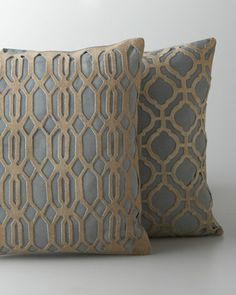 Jamie Young Laser-Cut Pillows - Horchow (expensive!)